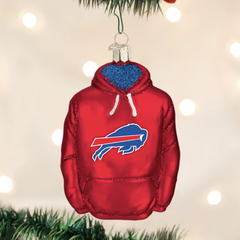 Glass Blown Ornaments - NFL Hoodie Collection