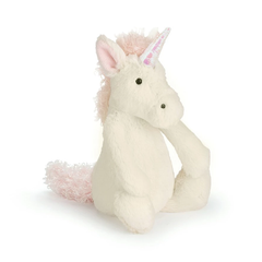 Plush Bashful Unicorn Stuffed Animal by Jellycat - Small