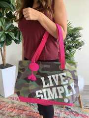 Canvas Totes by Simply Southern - Camo