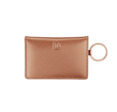 Ossential Leather ID Case - Rose Gold