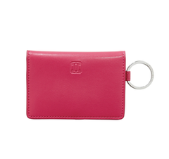 Ossential Leather ID Case - Tickled Pink