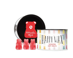 Happy Wax Soy Melts Tin - Watermelon Mojito