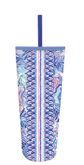 Acrylic Tumbler with Straw by Lilly Pulitzer - Shade Seeker