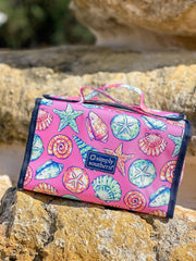 Shell Printed Makeup Bag by Simply Southern