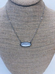 Isabelle Silver Pendant Necklace