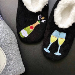 Poppin Bottles Slippers