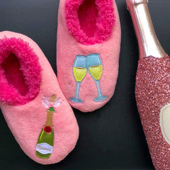 Champagne Slippers
