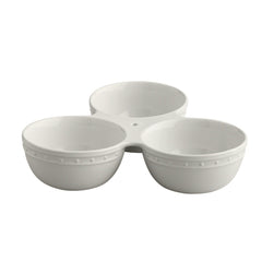 Triple Dish Serving Bowls by Nora Fleming
