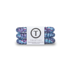 Teleties Hair Tie - Small Band Pack of 3 - Trippy Hippie
