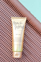 Beach Gypsy Gold Glitter SPF 30+ Sunscreen