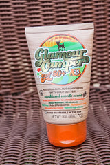 Glamour Camper Glitter SPF 50+ Sunscreen and Bug Repellant