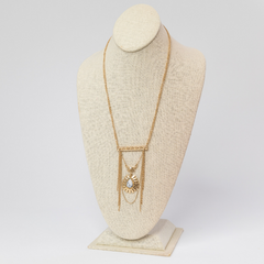 Final Sale: Pia Multi-Strand Pendant Necklace