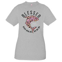 'Blessed Mama' Shark Short Sleeve Tee by Simply Southern