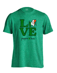 'Love St Patrick's Pup' Short Sleeve Tee by Puppie Love