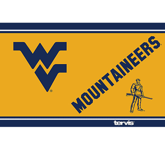 bd594df6b63 West Virginia Mountaineers Campus 20 oz Stainless Steel Tumbler by Tervis  (3-4 Week Production Time)