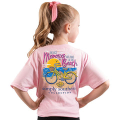 Youth 'Best Memories Are Made At the Beach' Short Sleeve Tee by Simply Southern