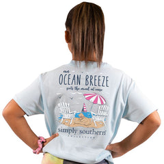 Youth 'Ocean Breeze' Short Sleeve Tee by Simply Southern