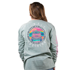 Youth 'No Road, No Problem, It's All Good' Long Sleeve Tee by Simply Southern