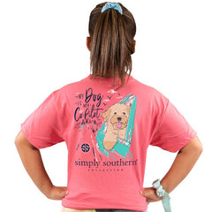 Youth 'My Dog is My Copilot' Short Sleeve Tee by Simply Southern
