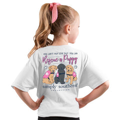 Youth 'Rescue a Puppy' Short Sleeve Tee by Simply Southern