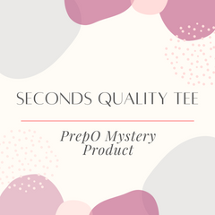 Seconds Quality Mystery Graphic Tee: PrepO Mystery Product
