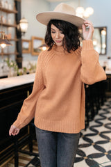 Your Favorite Knit Sweater in Carrot (Ships in 1-2 Weeks) - 11/5