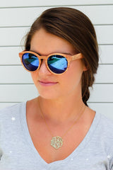 Final Sale: Alpine Mirrored Sunglasses