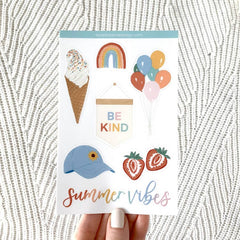 Summer Vibes Sticker Sheet