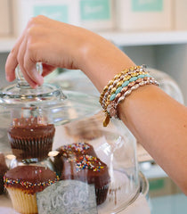 Charleston rice bead bracelets