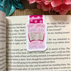 'Book Club' Magnetic Bookmark