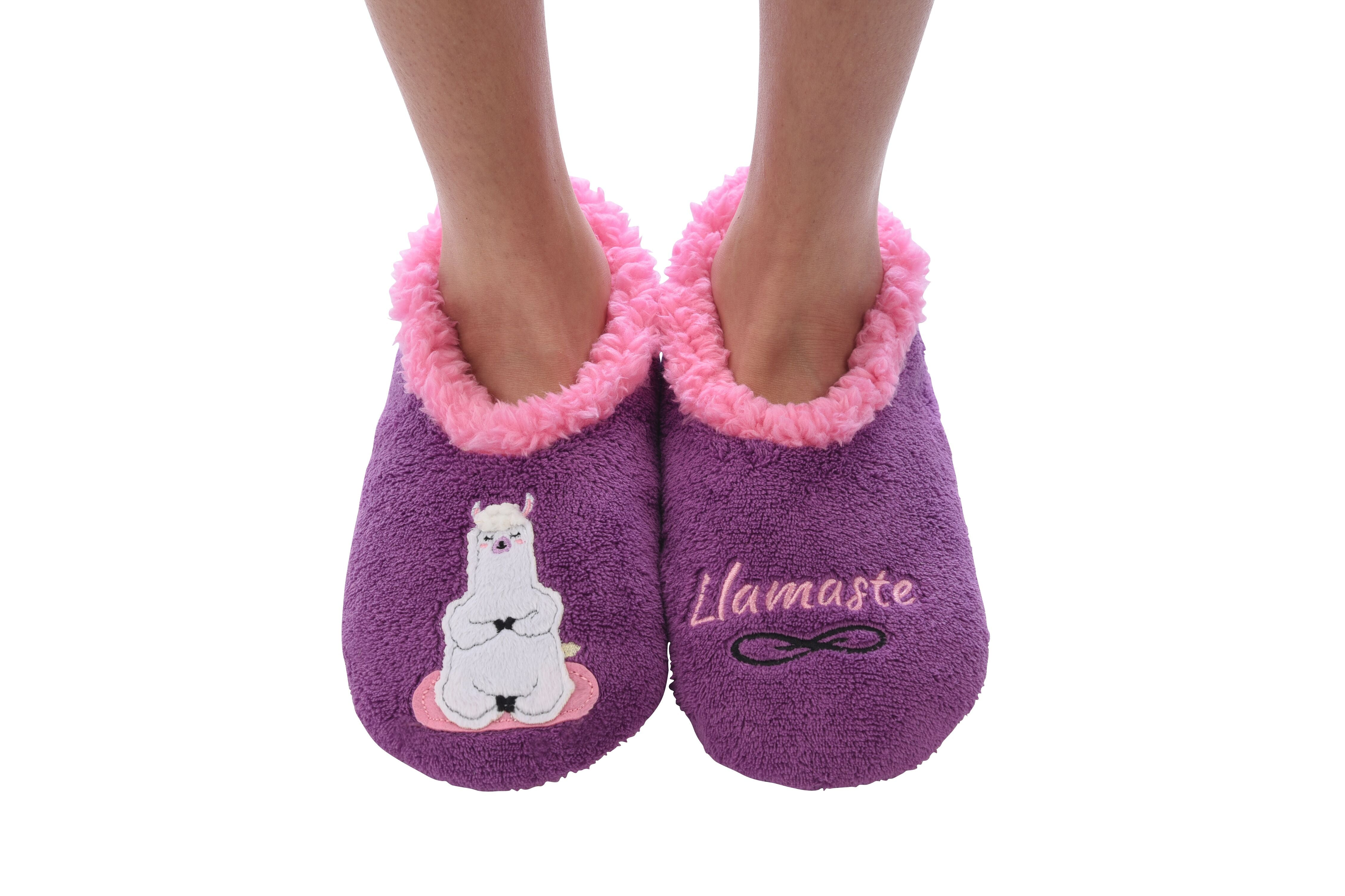 de62372be8e0 Snoozies! Slippers - Llamaste – Prep Obsessed