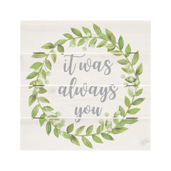 it was always you box sign home decor