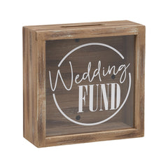 Wedding Fund Savings Shadow Box