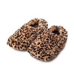 Warming Cozy Slippers in Leopard by Warmies