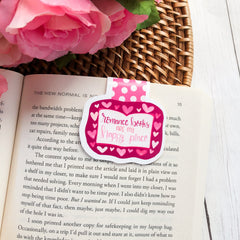 'Romance Books are my Happy Place' Magnetic Bookmark