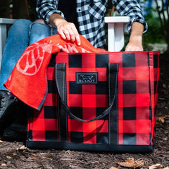 Original Deano Tote Bag by Scout - Flanel No 5