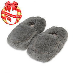 Warming Cozy Slippers by Warmies - Gray