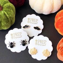 Halloween Stud Earrings Trio Set at Prep Obsessed