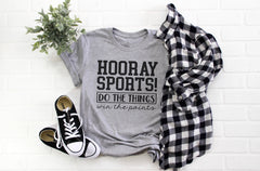 'Hooray Sports' Signature Graphic Tee