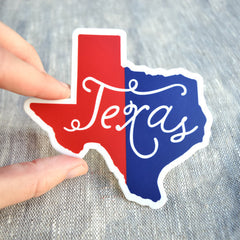'Texas' State Decal