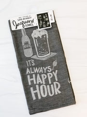 'Happy Hour' Kitchen Towel by PBK