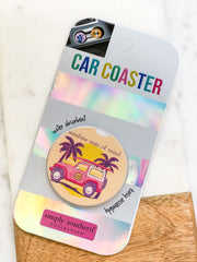 'Sunshine State of Mind' Car Coaster by Simply Southern