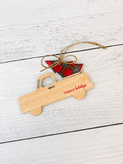 Truck Ceramic Ornament by Mud Pie