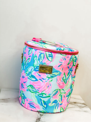 Lilly Pulitzer Beach Cooler Bag Totally Blossom