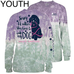 Youth 'Walk My Dog' Long Sleeve Tee by Simply Southern