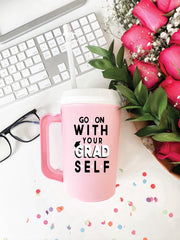 'Go On With Your Grad Self' Thermo Jug