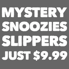 Mystery Snoozies Slippers