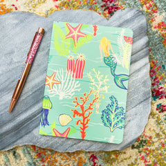 Golden Mermaid Ruled Notebook by Spartina