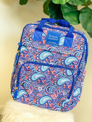 Paisley Print Backpack by Simply Southern