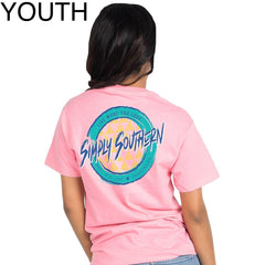 Youth Retro Logo Short Sleeve Tee by Simply Southern